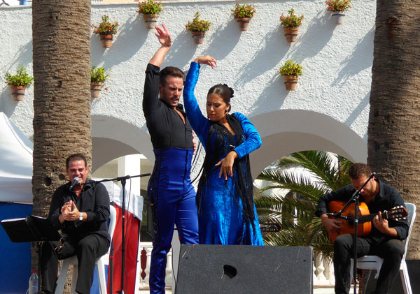 Espectaculo flamenco